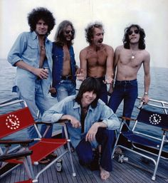 "Portrait of Eagles for ""Rolling Stone"" in 1975. © Neal Preston"