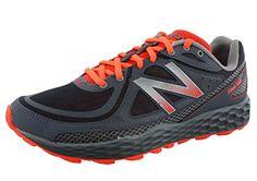 New Balance Mens Fresh Foam Hierro Trail Shoe GreyOrange 13 D US *** Click image for more details.
