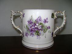 Beautiful Victorian Violets by Hammersley by ProsperiTea on Etsy, $35.00