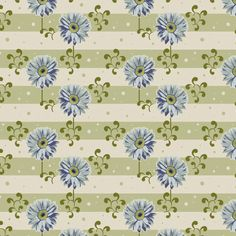Tilda Gerbera Fabric