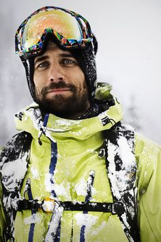 """""""I always think that one thing leads to another,"""" says Auclair. """"It always feels like something is right around the corner. It's a huge world that is wide open.""""   Shred In Peace JP Auclair"""
