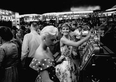 Las Vegas Club – downtown Las Vegas, 1954   Photo: Loomis Dean