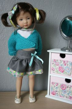 """Vêtements compatible Little Darling Dianna effner / cheries corolle Doll 13"""""""