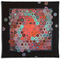 One Block Wonder - Bruce Seeds Quilting Projects, Quilting Designs, Sewing Projects, Quilt Design, Patchwork Designs, Quilting Ideas, Millefiori Quilts, One Block Wonder, Kaleidoscope Quilt