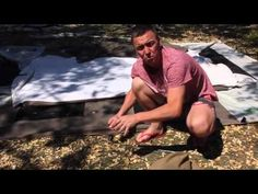 Getting a stuck tent peg out of hard ground:- If you have ever had trouble getting out your tent pegs then this simple trick is for you