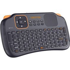 VIBOTON S1 Mini 2.4GHz Wireless Smart Keyboard with Touchpad for Mini PC Android TV HTPC
