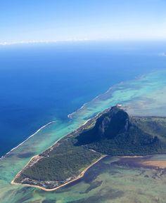 l'Ile Maurice, océan Indien, au cœur de l'archipel des Mascareignes entre La Réunion à et l'île Rodrigues