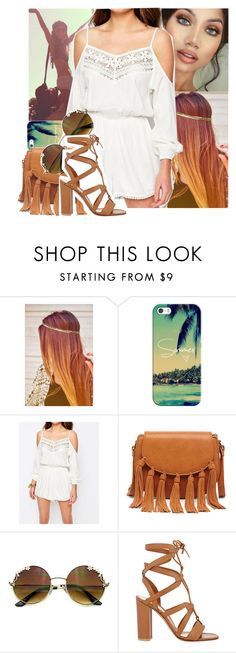 """""""Coachella {read the description}"""" by jo-ellehadi ❤ liked on Polyvore featuring Casetify, Sole Society and Gianvito Rossi"""