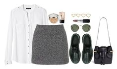 """""""Sem título #375"""" by mika-3 ❤ liked on Polyvore featuring Dr. Martens, Banana Republic, Topshop, Chloé, Ray-Ban, MAC Cosmetics, Ana Khouri, Christian Dior and Charlotte Russe"""