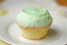 Margarita cupcakes - lime cupcakes with tequila frosting, yum!