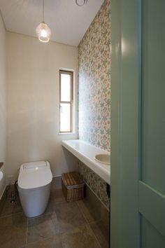バス/トイレ事例:トイレ(やさしい空気に包まれた家)