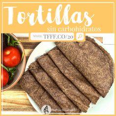 Tortillas sin Carbohidratos