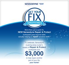 want to get a years supply of sensodyne