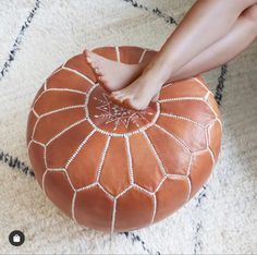 Handmade faux leather moroccan pouf footstool ottoman leather pouf Moroccan Leather Pouf, Moroccan Pouf, Pouf Footstool, Poufs, Moroccan Home Decor, Floor Pouf, Shops, Leather Ottoman, Vegetable Tanned Leather