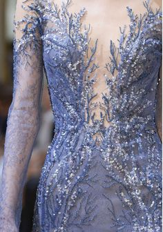 Zuhair Murad Fall-winter - Couture on We Heart It Embroidery Fashion, Embroidery Dress, Zuhair Murad, Mode Glamour, Mermaid Outfit, Fantasy Gowns, Figure Skating Dresses, Beautiful Gowns, Dream Dress