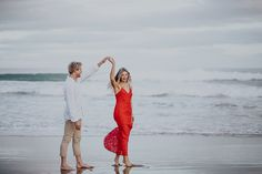 Tasmanian Headland Engagement Shoot: Sean and Ella