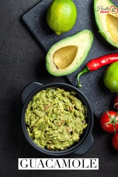 Clean Eating Chunky Guacamole Healthy Food Habits, Healthy Fats, Healthy Snacks, Healthy Eating, Healthy Recipes, Easy Dinner Recipes, Easy Meals, Food Labels, Clean Eating Recipes