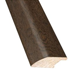 Hickory Ale 3/4 in. Thick x 2-1/4 in. Wide x 78 in. Length Hardwood Lipover Reducer Molding, Brushed Ale
