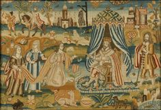 The Ashmolean has acquired one of the world's finest collections of historic English embroideries which has been given to the Museum by collectors Micheál and Elizabeth Feller. The gift comprises 61 pieces which span the whole of the seventeenth century. 29-Sep-2014 http://www.ashmolean.org/news/index.php?id=251