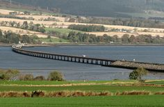 Bridge over Cromarty Firth, Mountgerald, Scotland;  photo by Rajan Talwar, via Flickr