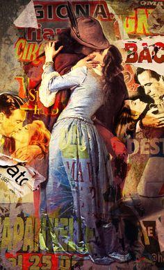Il Primo Bacio Painting, Art, Art Background, Painting Art, Paintings, Kunst, Drawings, Art Education