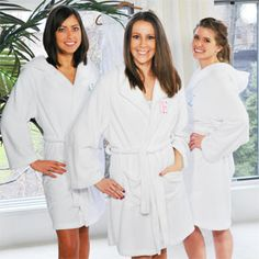 Plush Hooded Spa Personalized Robe