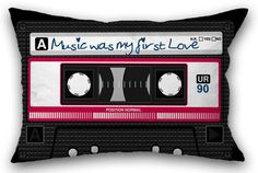 """""""Music was my first love"""" recorded on cassettes. You, too? Yes? ...then please feel free to repin :-)"""