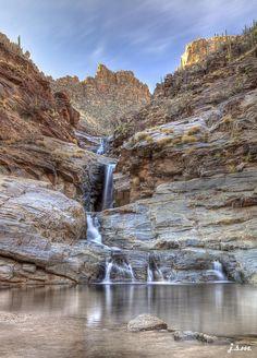 Seven falls near tucson