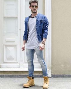 Natural Street Style for Men