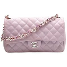 Pre-owned Purple Chanel Shoulder Bag (5,505 CAD) ❤ liked on Polyvore featuring bags, handbags, shoulder bags, purses, chanel bags, purple, man bag, hand bags, preowned handbags and chanel purses