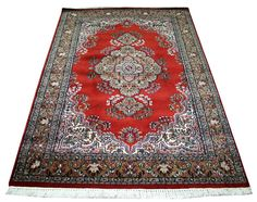 Hand-knotted Carpet Rugs Cashmere Carpet Area Rug Oriental Home Decor Large EDH