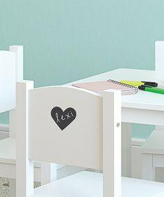 Heart Chalkboard Label Decal - Set of Eight #zulily #zulilyfinds