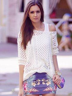 Inspiralçao de blusa em trico linda