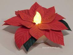 stampin up Weihnachtsstern LED Teelicht Goodies Weihnachten