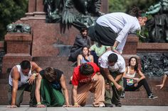 CIUDANZA 2013, shows and contemporary dance workshops in parks of Buenos Aires. #dance