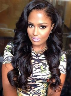 50 Best Eye-Catching Long Hairstyles for Black Women  6285b6b3b1