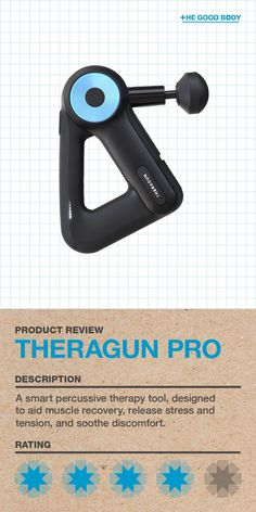 Take a look at our complete and comprehensive product review of the Theragun PRO: a powerful percussive massager device that is designed to relieve stress and tension, soothe discomfort and aid muscle recovery.  Discover why it is head and shoulders above the competition. Ways To Stay Healthy, How To Stay Healthy, Fitness Equipment, No Equipment Workout, Natural Pain Relief, Muscle Recovery, Release Stress, Therapy Tools, Lifestyle Group