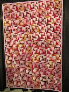 by Jackie-Quilts!, via Flickr. Gorgeous design and color choices.