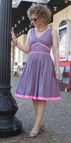 Serendipity Studio Marilyn Dress Sewing Pattern – WeSewRetro