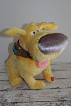 "Disney  Pixar ~ UP~ Doug Dug Talking Dog 12"" Plush Stuffed Animal~ W/TAG ~DISNEY #Pixar"