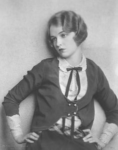 Miss Flobelle Fairbanks around 1927.  (Flobelle was known by several aliases, but the most popular was Florance Fair, in case you want to look her up.)