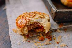Savory mooncakes / the woks of life – http://ladyandpups.com/2015/09/25/prosciutto-and-dates-su-style-mooncake/