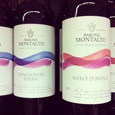 Nice wine label/packaging