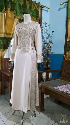Source by brokat Source by jazminecoconnorjazmine brokat Dress Brokat Muslimah 36 Ideas Dress Brukat, Kebaya Dress, Dress Pesta, Batik Dress, Batik Fashion, Abaya Fashion, Muslim Fashion, Fashion Dresses, Hijab Gown