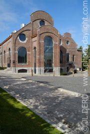 Staal renovatie - Bois du Cazier, stalen kozijnen van Jansen, via ODS