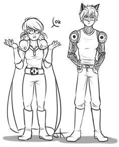 Miraculous Ladybug and One Punch Man crossover