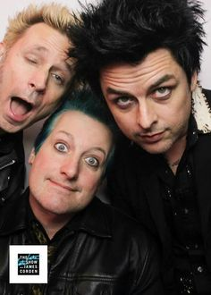 GREEN DAY - Mike Dirnt, Billie Joe Armstrong, Tré Cool #RevRad