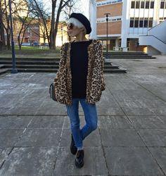 Fashion on Stage: happy leopard