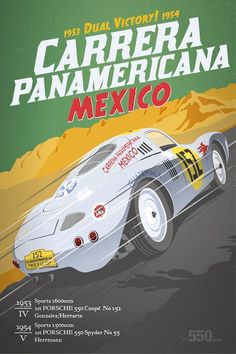 "New type550.com vintage race posters. Soon available as limited edition 30"" x 40"" screen printed collector posters"