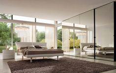 43+bright+bedroom+modern+wardrobe+with+mirror+doors.jpg (640×404)